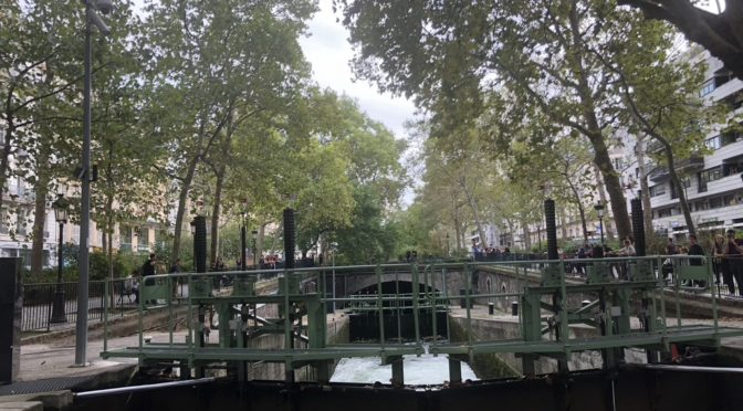 The Canal Saint-Martin Paris: paris gems